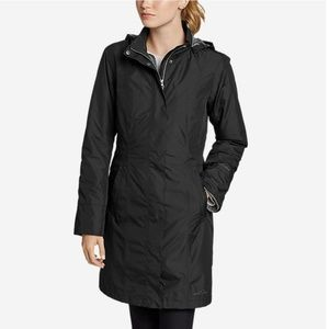 Eddie Bauer Girl-on-the-Go insulated trench coat